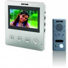 "Zicom 4.3"" Color Video Door Phone System"