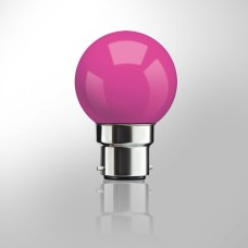 LED 1W Bulbs (Pink)